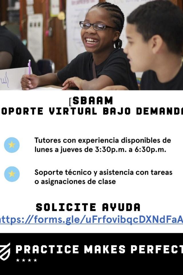 SBAAM OnDemand Virtual Support Span