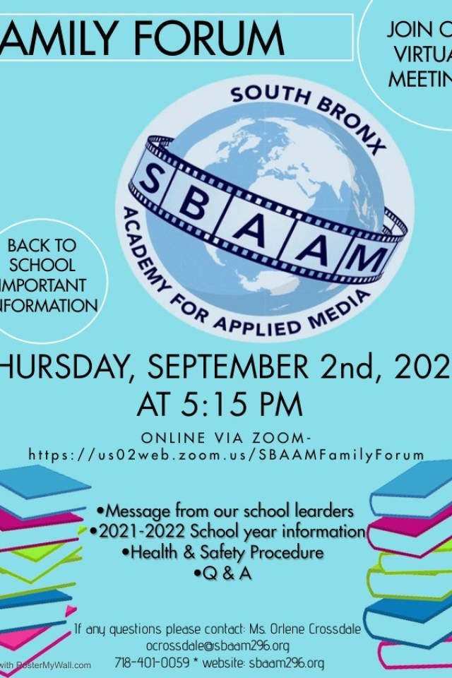 Family Forum Flyer SBAAM 2021 (1)