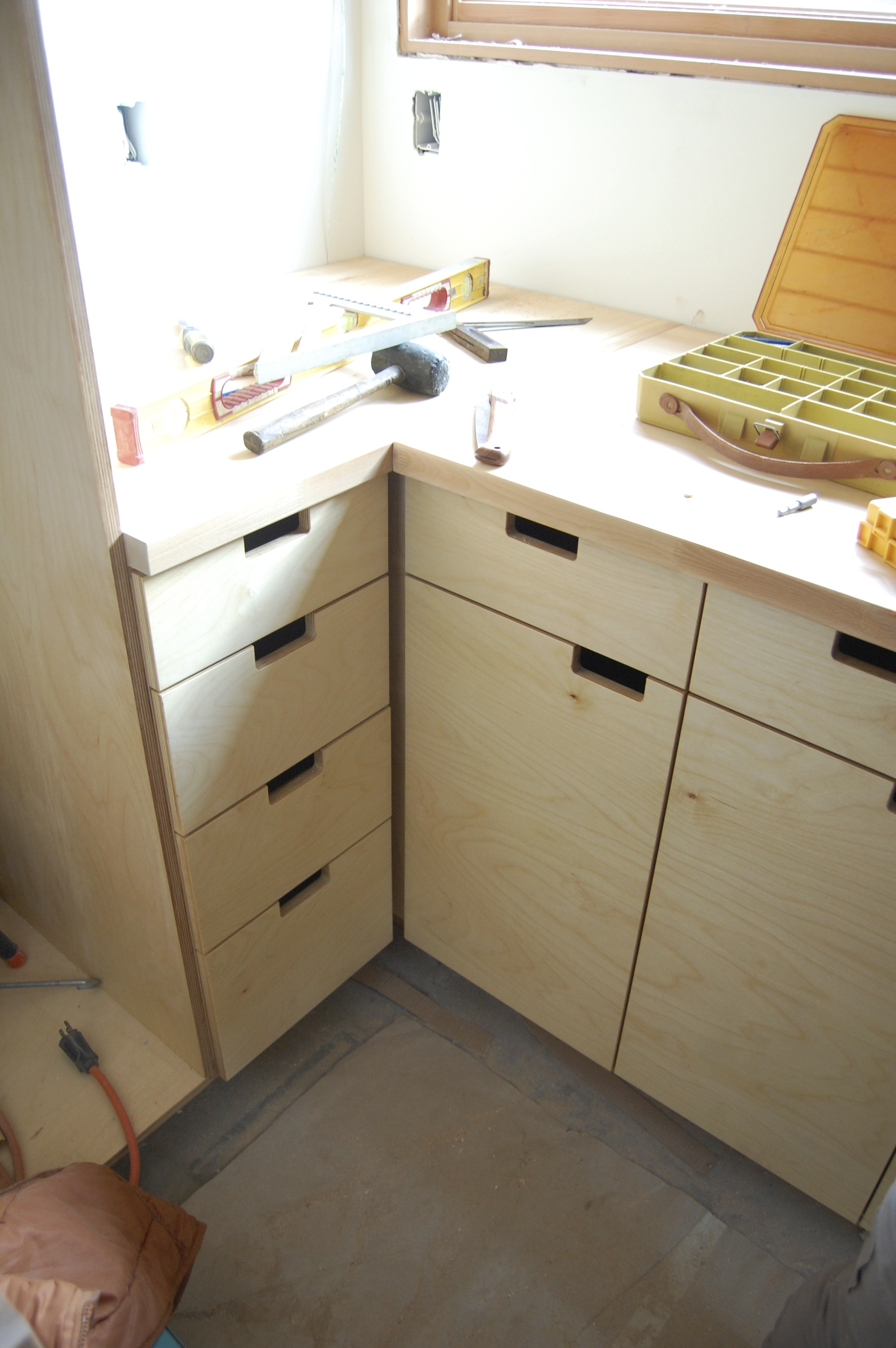 Cabinets Custom plywood beauties  ADU A Design Undertaking