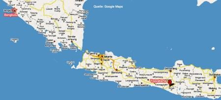 Google Karte Indonesien