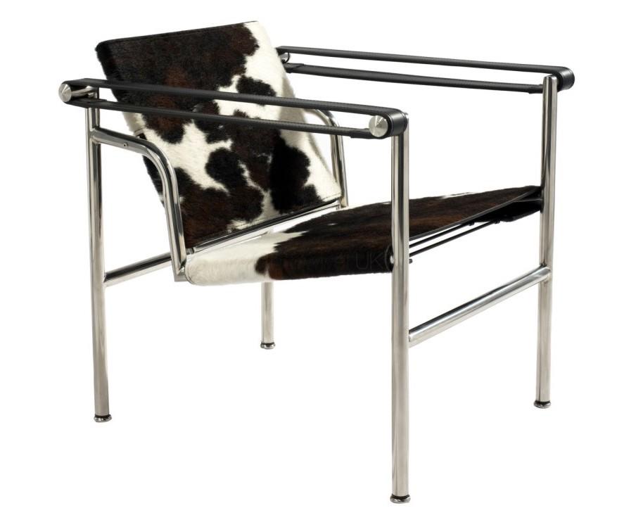 La sedia basculant lc1 di le corbusier sbandiu momenti di design - Sedia le corbusier ...