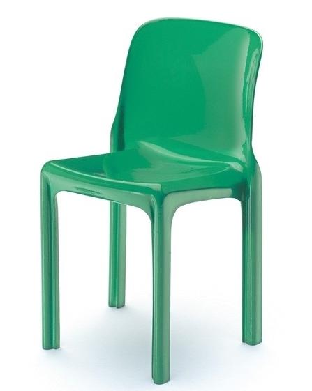 La sedia selene di vico magistretti sbandiu momenti di - La sedia di design ...