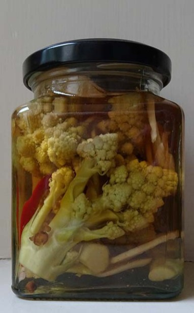 Pickled Romanesco Broccoli