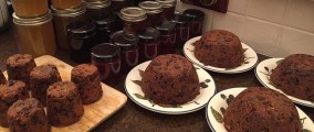 Christmas Puddings and some preserves