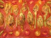 Mozarella Stuffed Zucchini Flowers - 17