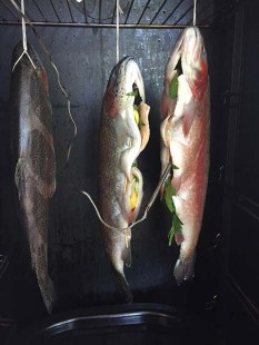 Hung in the smoker