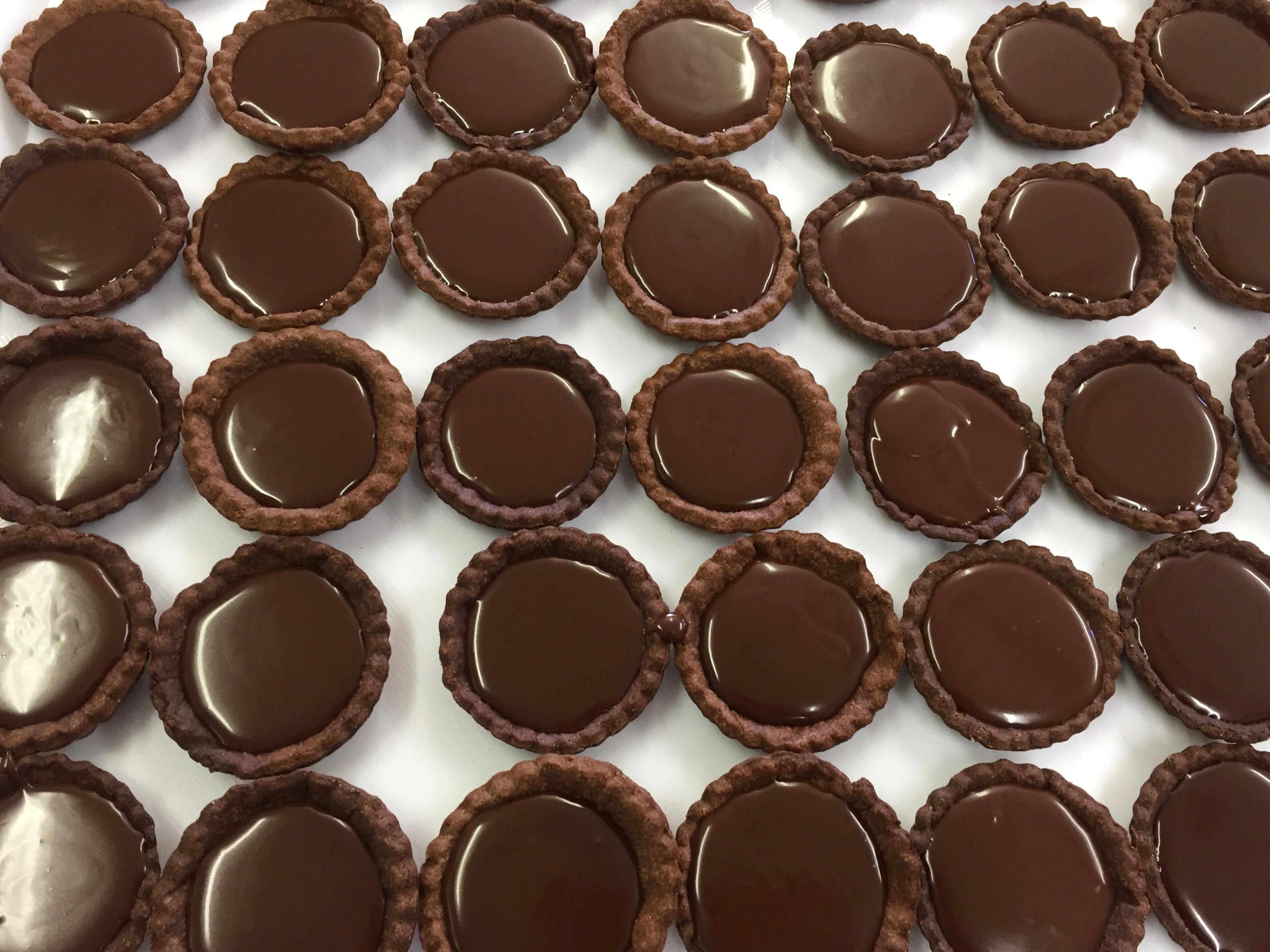 Chocolate Mocha Tarts - Gluten Free