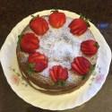 Nana's Chocolate Cream Cake - r