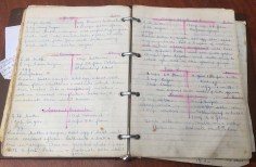 My mum's recipe book