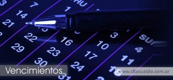 Vencimientos www.sbasualdo.com.ar