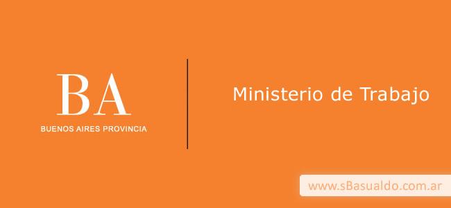 ministerio de trabajo de la provincia de buenos aires