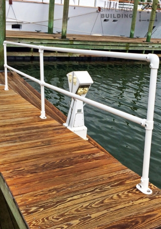 20 Beautiful Railings Built With Pipe Simplified Building | Diy Galvanized Pipe Handrail | Entrance | Abs Pipe | Curved Steel Pipe | Repurposed | Simple Pipe