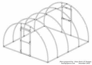 Pipe Structure Plans, Solar Frames, Shade Structures