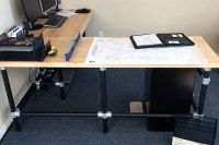 DIY Butcher Block Desk | Simplified Building