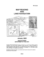 Map Reading and Land Navigation – US Army