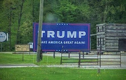 TRUMP Billboard in Madison, Indiana (May 2016)