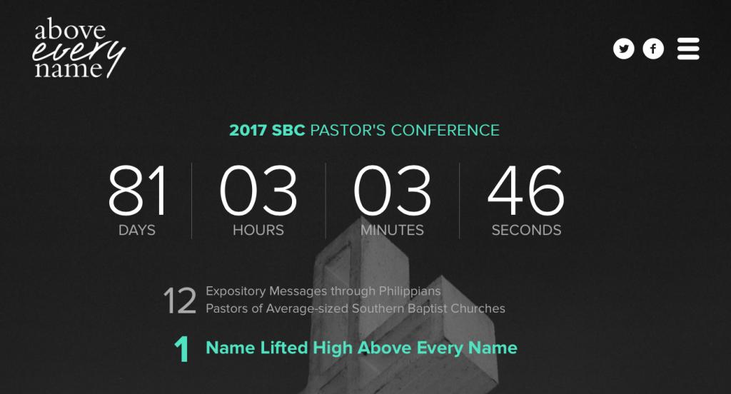 SBC Pastors' Conference