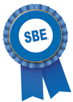 SBE award ribbon