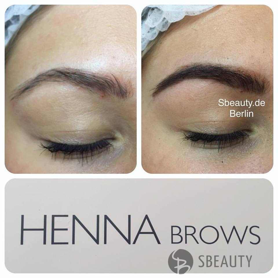Henna Brows  Augenbrauen  Sbeauty