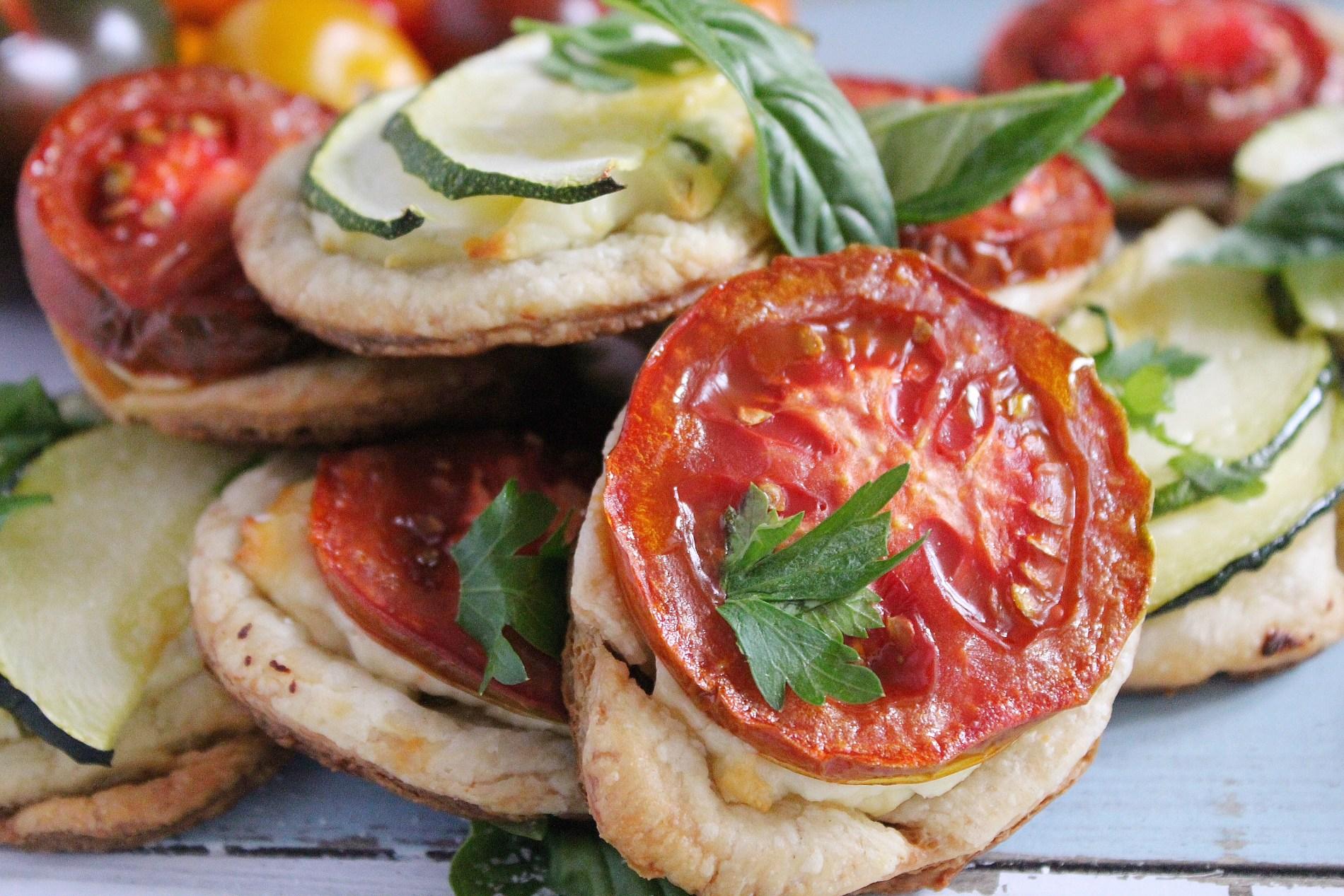 Ricotta Tomato Tarts with Sage and Lemon