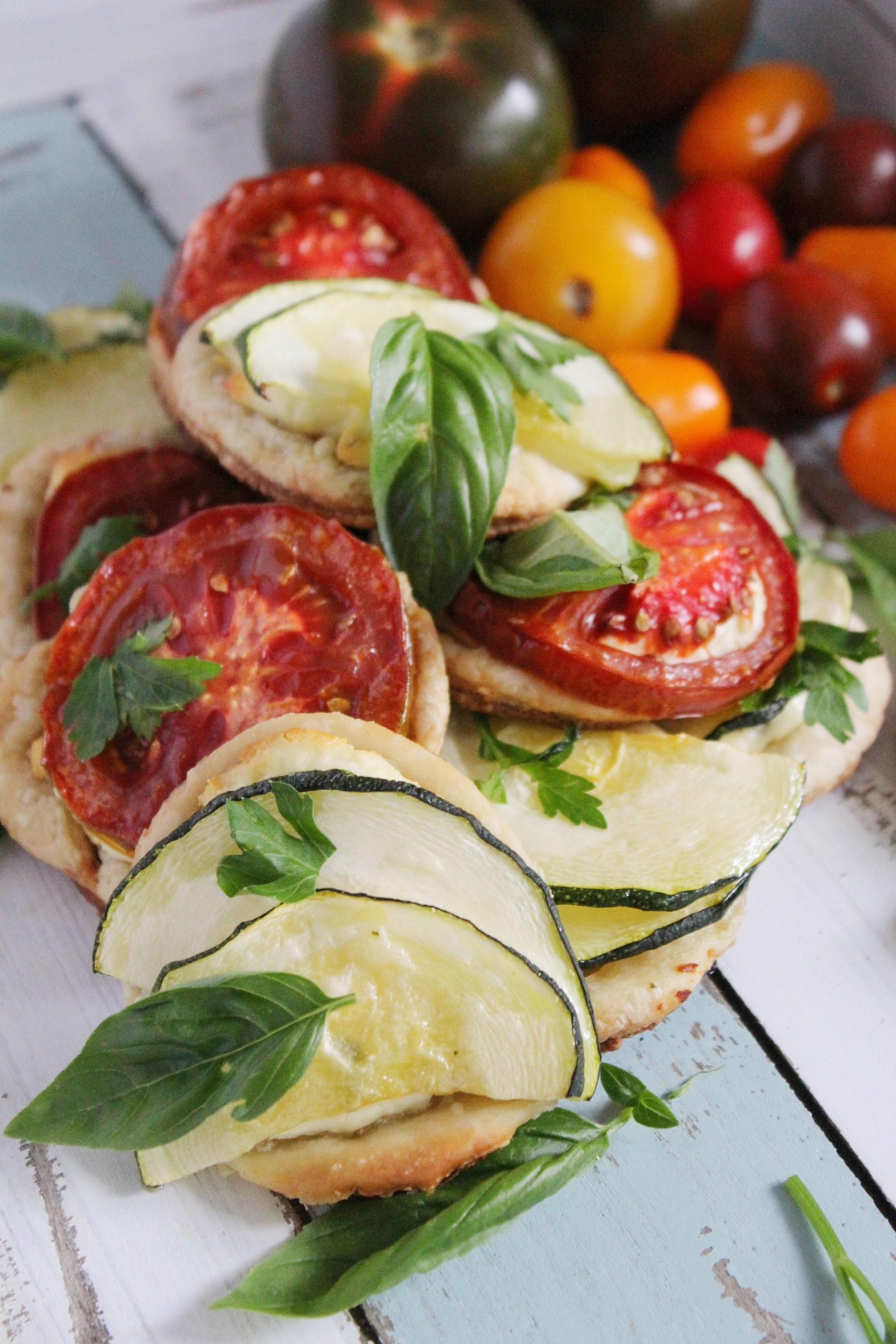 Ricotta Tomato Tarts