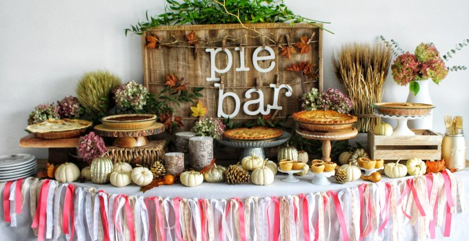 Thanksgiving Pie Bar