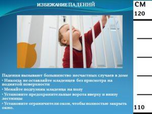 Падения вызывают большинство несчастных случаев в доме