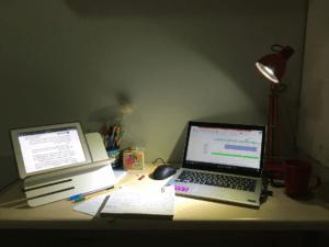 работа в ночное время за компьютером