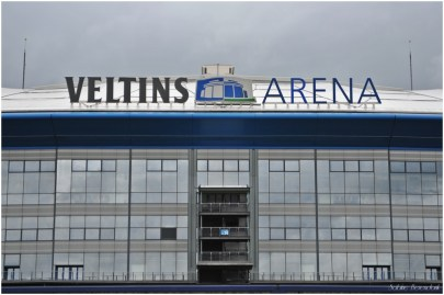 Fußballstadion auf Schalke
