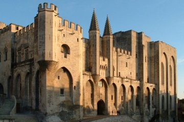 Papal residence in Avignon