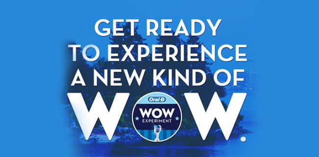 OralB Wow Experiment