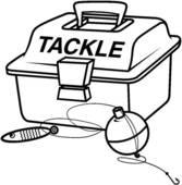 Fishing Tackle Box Coloring Sheets Coloring Pages