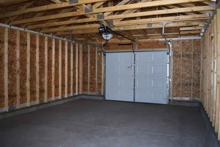 garage from door