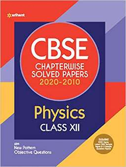 CBSE Physics Chapterwise Solved Papers Class 12 2020-2010 PDF
