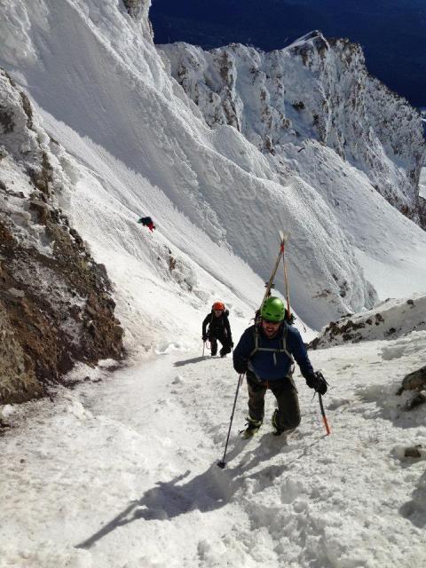 Sam Whalen on the mountain