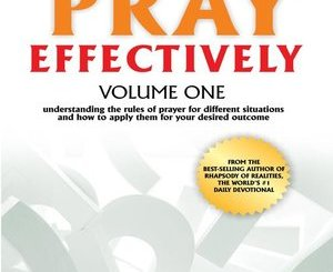 Download How to Pray Effectively By Pst Chris Oyakhilome