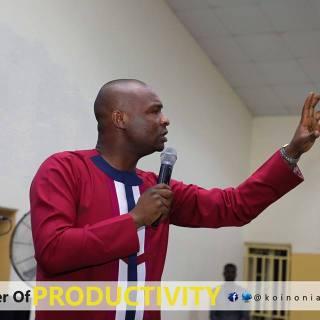 Download The Power of Productivity-Koinonia with Apostle Joshua Selman Nimmak