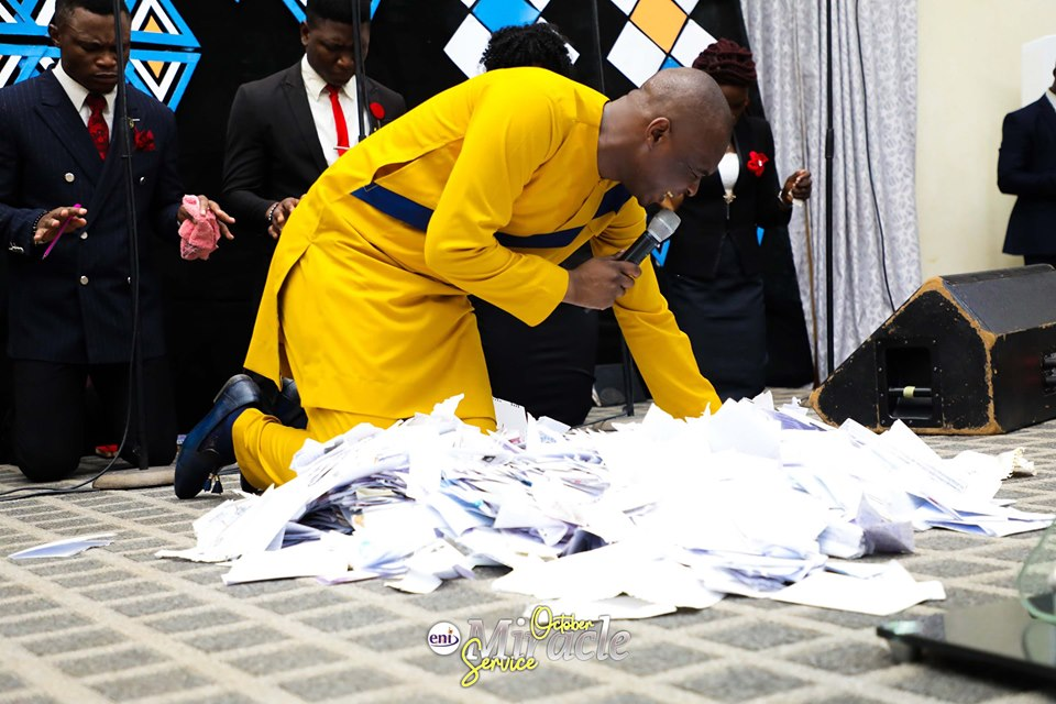 Download October 2019 Miracle Service Koinonia with Apostle Joshua Selman Nimmak