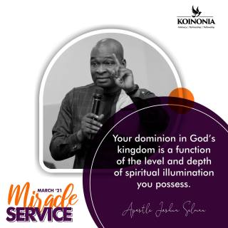 Download March 2021 Miracle Service Koinonia Zaria Sermon with Apostle Joshua Selman Nimmak