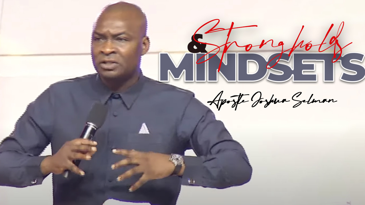 Download Strongholds And Mindsets Koinonia Abuja Sermon with Apostle Joshua Selman Nimmak