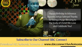 Download Seven Gospels That Characterize The Nigeria Church Koinonia Podcast with Apostle Joshua Selman Nimmak