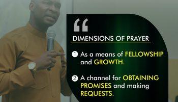 Teach Us To Pray Part Three Koinonia with Apostle Joshua Selman Nimmak