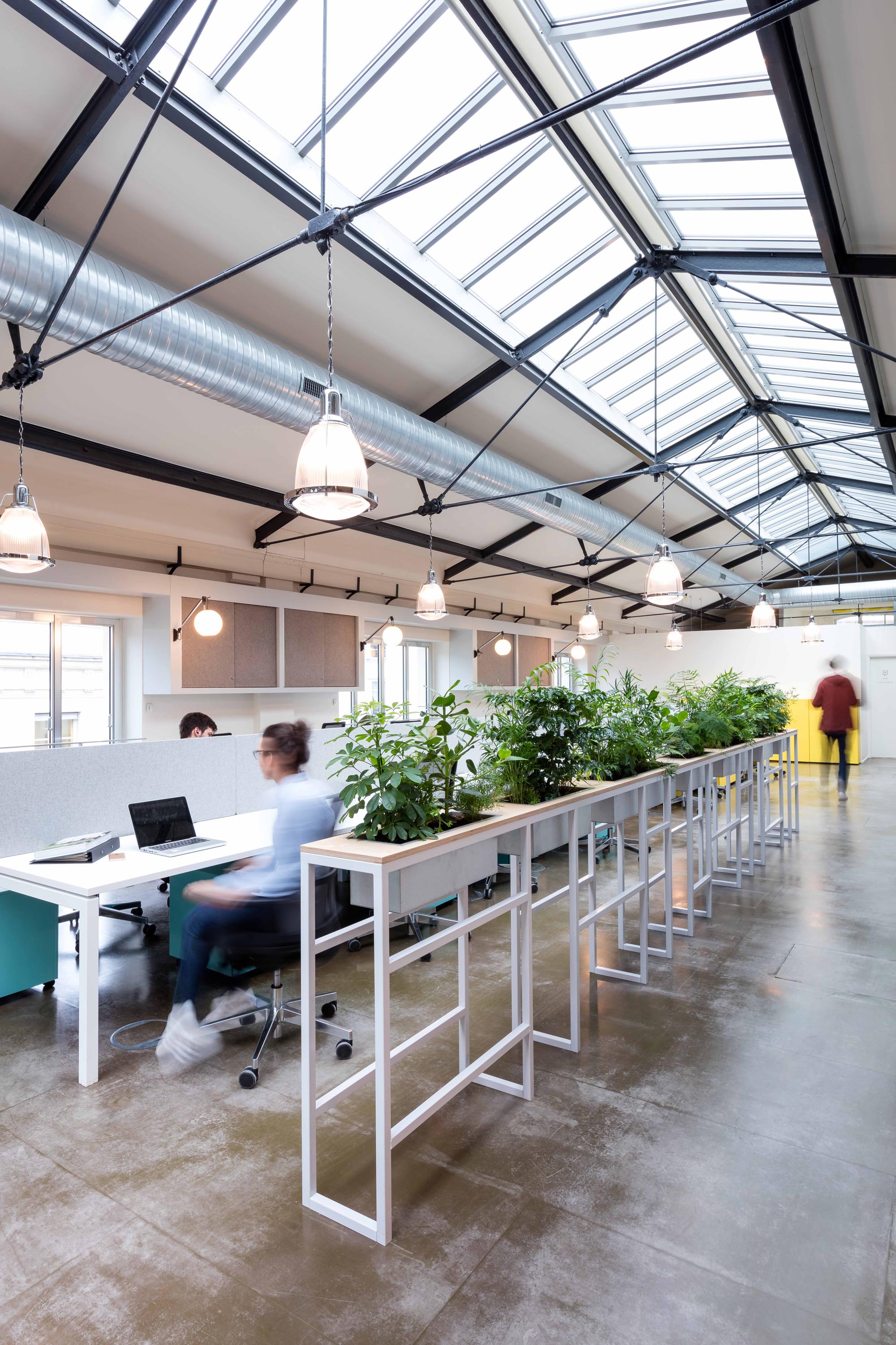 Warehouse Office Space Design
