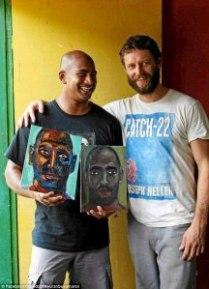 behind bars under the mentorship of Australian artists Ben Quilty