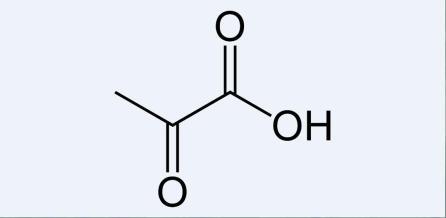 Pyruvic-acid-2D-skeletal