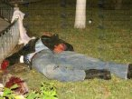 mayor 15 police shot dead Jalisco.