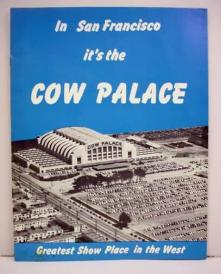 vintage cow palace poster from