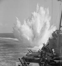 HMS_Ceylon_depth_charge_munition