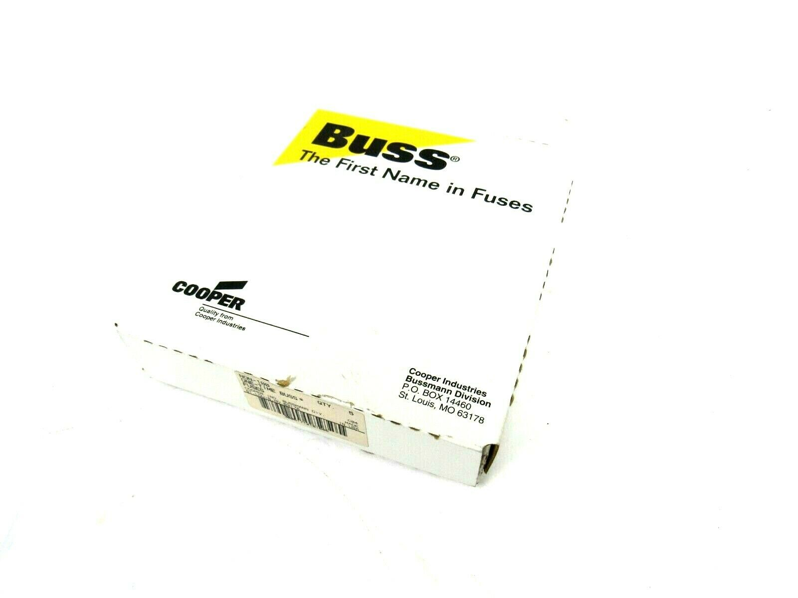 New Box Of 5 Bussmann Non 100 Fuse Non100 Sb Industrial