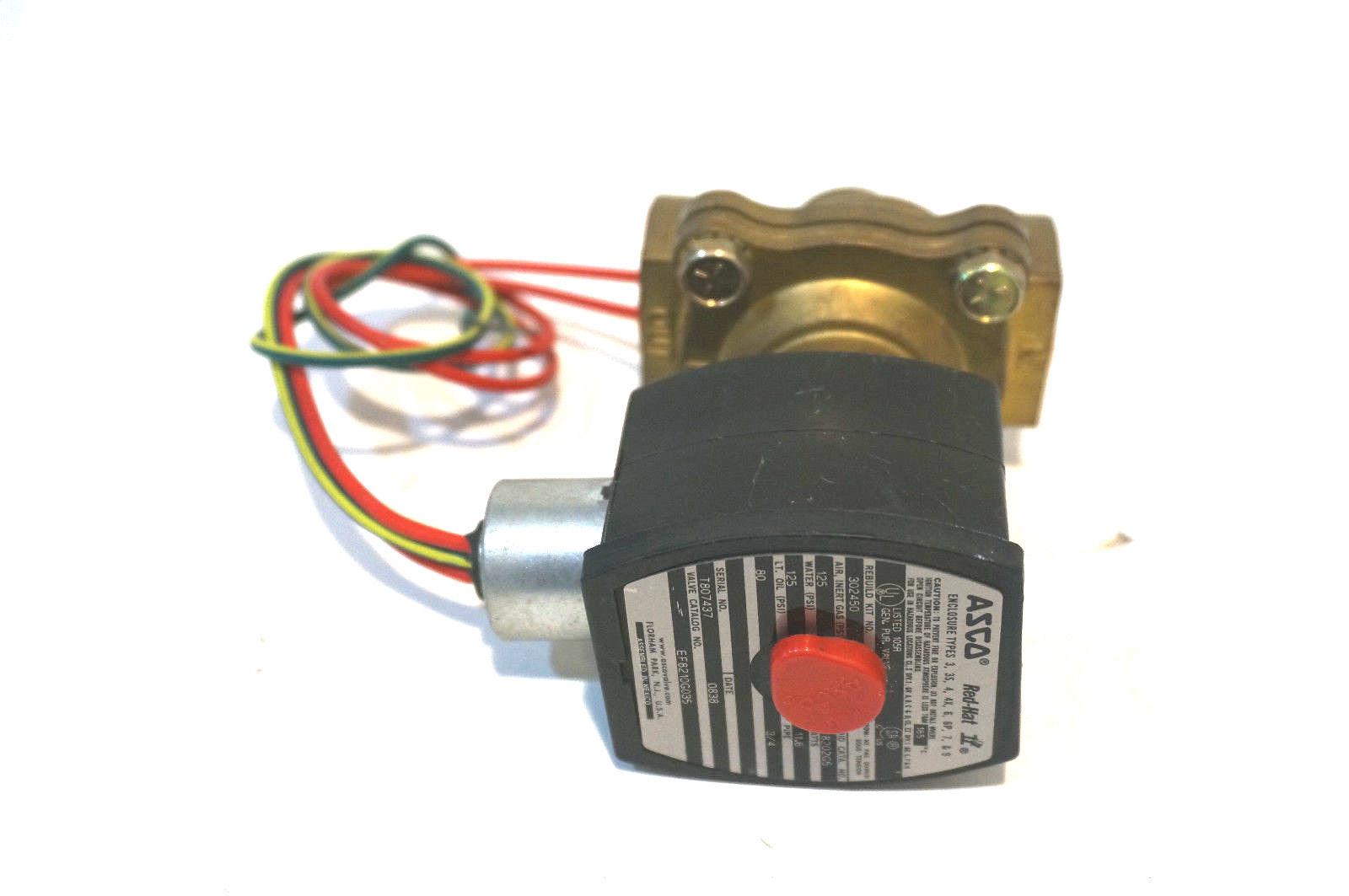 asco solenoid valve 8210 wiring diagram yamaha golf cart sb industrial supply mro plc equipment parts
